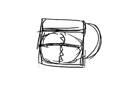 ひらくPCバッグのリュック版アイデア2 文具王のモバイラーズバッグタイプ