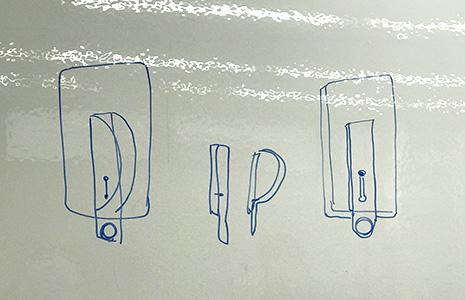 携帯のホールドリングのイメージ図