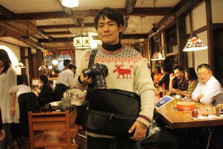 ひらくPCバッグユーザーレビュー:中山記男さん