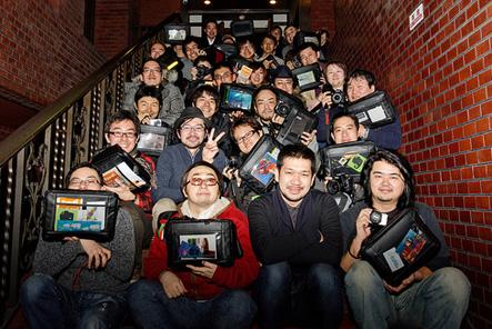 とれるカメラバッグのユーザーイベント記念撮影