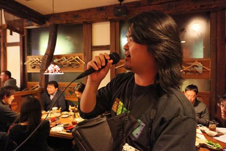 とれるカメラバッグユーザイベントのゲストはジェット☆ダイスケ先生